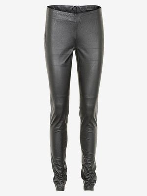 Gestuz Arini Leather Stretch Legging Black