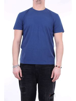 FEDELI MEN'S 3UEE0206BLUPACIFICO BLUE OTHER MATERIALS T-SHIRT