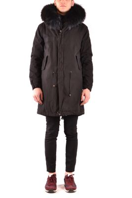 Mr & Mrs Italy Parka in Black