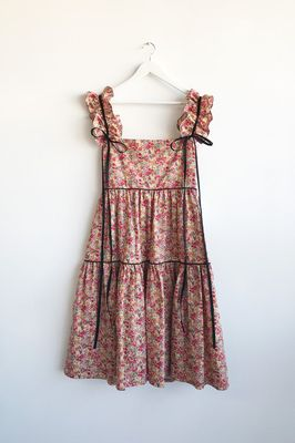 Flora Dress With Detachable Sleeves