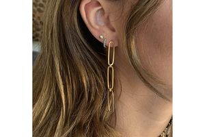 BOHO BETTY Cruz drop earrings GOLD