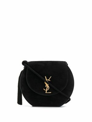 SAINT LAURENT WOMEN'S 591417C8ZDW1000 BLACK LEATHER SHOULDER BAG