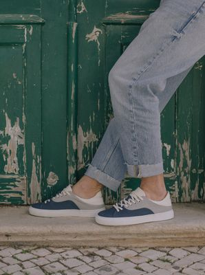 After Surf Sneakers Gray Blue