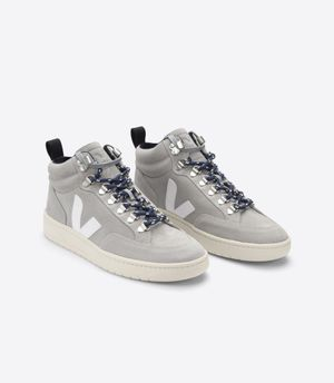 Roraima Grey Suede Hi-Top Sneakers