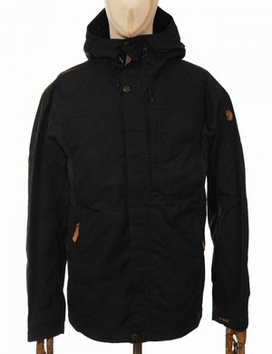 Fjallraven Kaipak Jacket - Black Size: Medium, Colour: Black