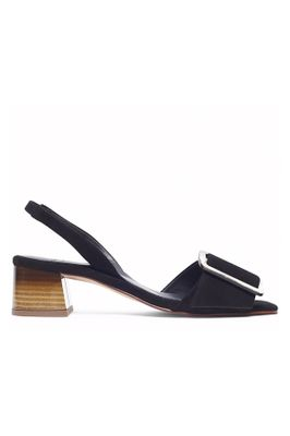 HUDSON LONDON Arwen suede sandals BLACK