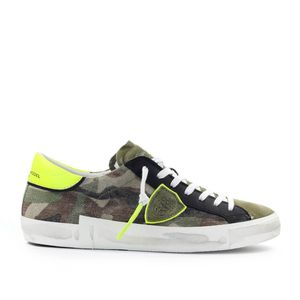 PHILIPPE MODEL PRSX CAMOUFLAGE GREEN YELLOW SNEAKER