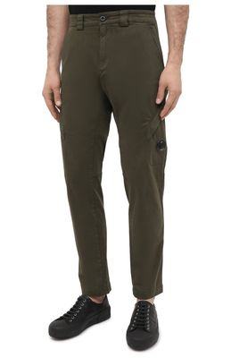 C.P. Company Garment Dyed Lens Pocket Cargo Pants