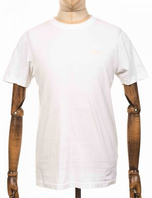 Deus Ex Machina Standard Embroidered Tee - White Size: Medium, Colour: