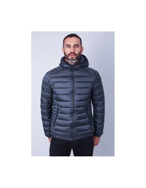 Sseinse Hooded Puffer Jacket Colour: Black