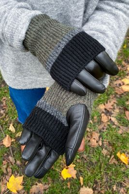 Markberg Helly Black, Grey & Olive Gloves