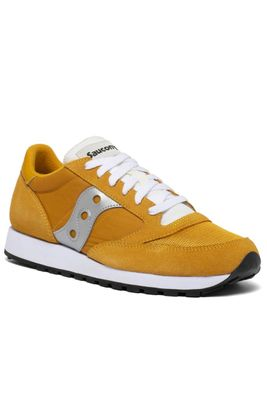 Saucony Jazz Yellow, White & Silver Trainers