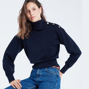 Maison Labiche Sailor Sweater - Midnight Blue