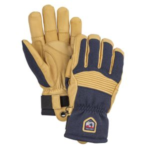 Hestra Army Leather Couloir Glove Navy / Tan