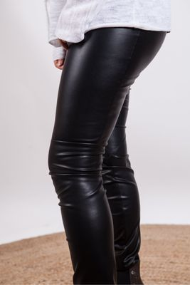 Riani Faux Leather Trousers