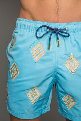 Balearic Blue Swim Shorts