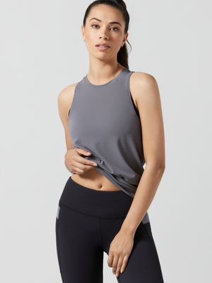 Charcoal Kendall Tank Top