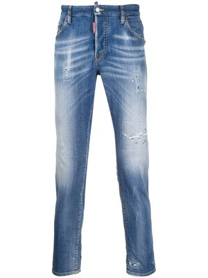 Dsquared2 Jeans Skater Worn Effect