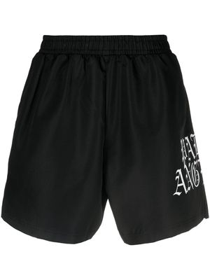 Palm Angels Logo Printed Shorts