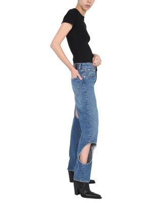 """HOLE BAGGY"" JEANS"