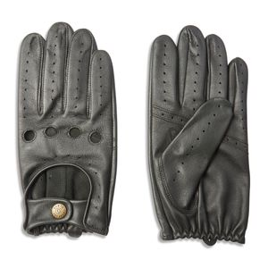 Dents Delta Classic Leather Driving Gloves - British Racing Green