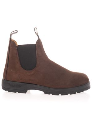 BLUNDSTONE MEN'S 1606BROWNM BROWN SUEDE ANKLE BOOTS