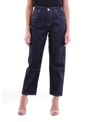 LORENA ANTONIAZZI Jeans mom_fit Women Dark jeans