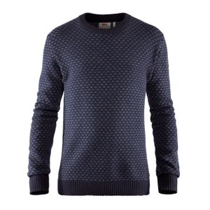 Fjallraven Ovik Nordic Sweater Dark Navy