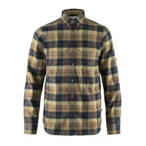 Fjallraven Singi Heavy Flannel Shirt Dark Sand