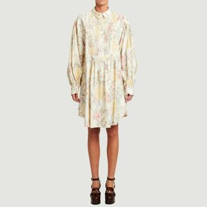 Shirt dress Multicolor White See by Chloé