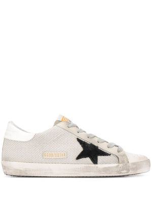 GOLDEN GOOSE WOMEN'S GWF00101F00031310271 WHITE FABRIC SNEAKERS