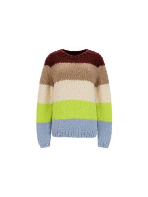 GABRIELA HEARST WOMEN'S 321902A011AMULST MULTICOLOR OTHER MATERIALS SWEATER