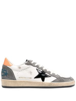 GOLDEN GOOSE MEN'S GMF00117F00038680342 WHITE LEATHER SNEAKERS
