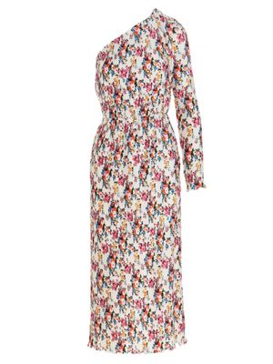 MSGM WOMEN'S 3041MDA26Y21715001 MULTICOLOR OTHER MATERIALS DRESS