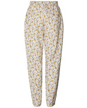 Lollys Laundry Bill Cream Cotton Trousers