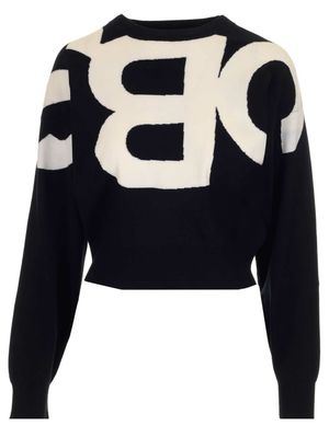 SEE BY CHLOÉ WOMEN'S CHS21SMP12590905 BLACK OTHER MATERIALS SWEATER