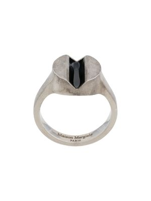 MAISON MARGIELA MEN'S S30UQ0042S12650962 SILVER OTHER MATERIALS RING
