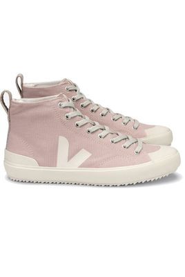 Nova High Top Canvas Trainers - Babe Pierre