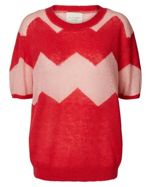 Lollys Laundry Anton Red Striped Knit
