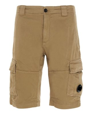 CP COMPANY MEN'S 10CMBE277A005694G329 BEIGE OTHER MATERIALS SHORTS