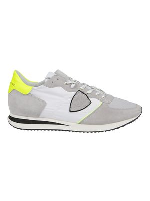 PHILIPPE MODEL MEN'S TZLUWP11 GREY OTHER MATERIALS SNEAKERS
