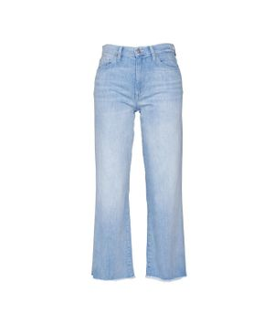 7 FOR ALL MANKIND WOMEN'S JSWJR51RRN11LIGHT BLUE OTHER MATERIALS JEANS