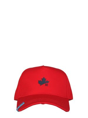 DSQUARED2 MEN'S BCM040505C00001M1766 RED OTHER MATERIALS HAT