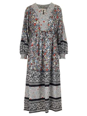 SEE BY CHLOÉ WOMEN'S CHS21URO050230YA MULTICOLOR OTHER MATERIALS DRESS