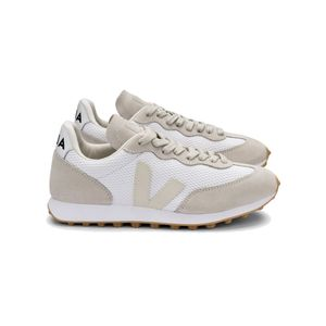 VEJA Riobranco Hexamesh Trainers - White Pierre Natural