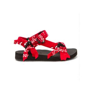 ARIZONA LOVE Trekky Sandals - Bandana Red