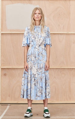 Tanta Dress in Ice Blue by Munthe