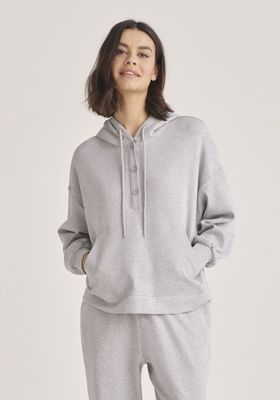 Button Hoodie