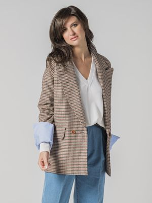 Jejia JACKET OVER PDP CUFF CONTRAST