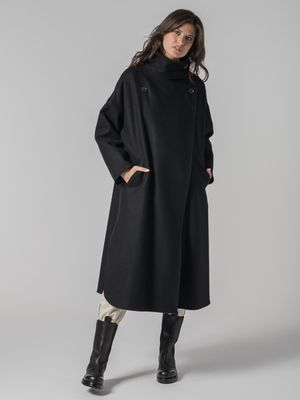 Erika Cavallini COAT WITH OVER piping